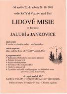Lidové misie ve farnosti Jalubí a Jankovice 1